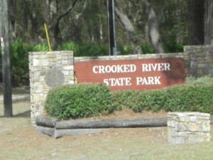 Crooked River State Park entrance