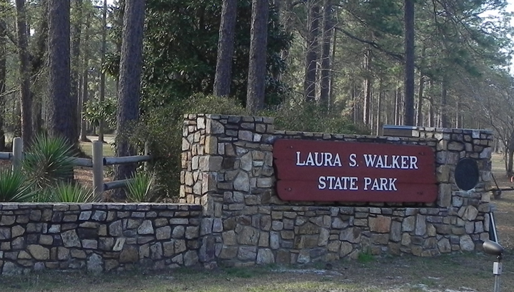 Laura S. Walker Entrance