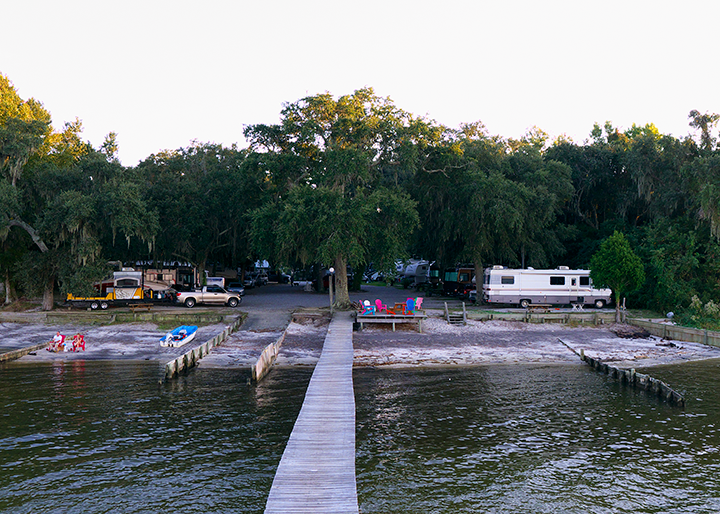 Bay Breeze is a small park with only 25 sites.