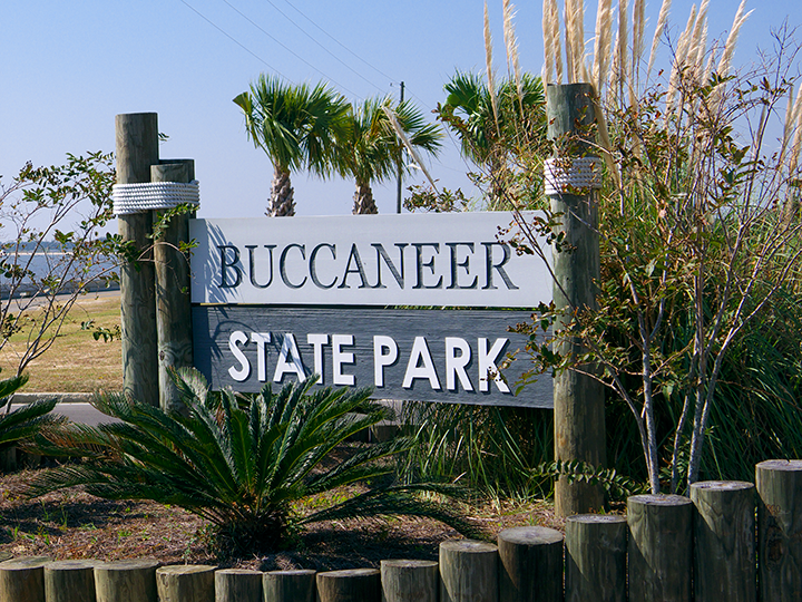 Watch for the sign along Beach Blvd.